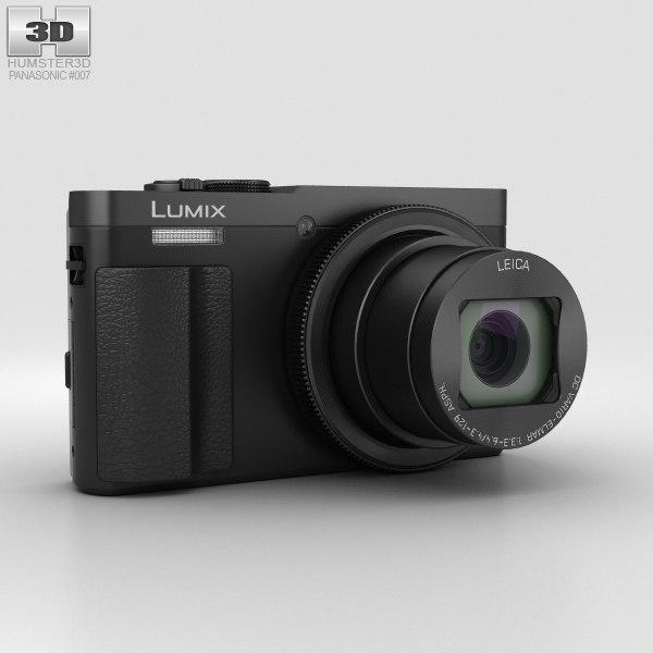 3D panasonic dmc-tz70 lumix model