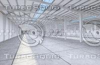 factory interior 3D model