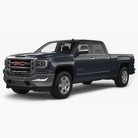 3D model 2018 gmc sierra 1500