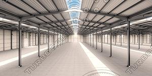 factory interior 3D