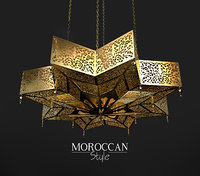 moroccan light 3D model