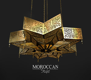 moroccan light 3D model