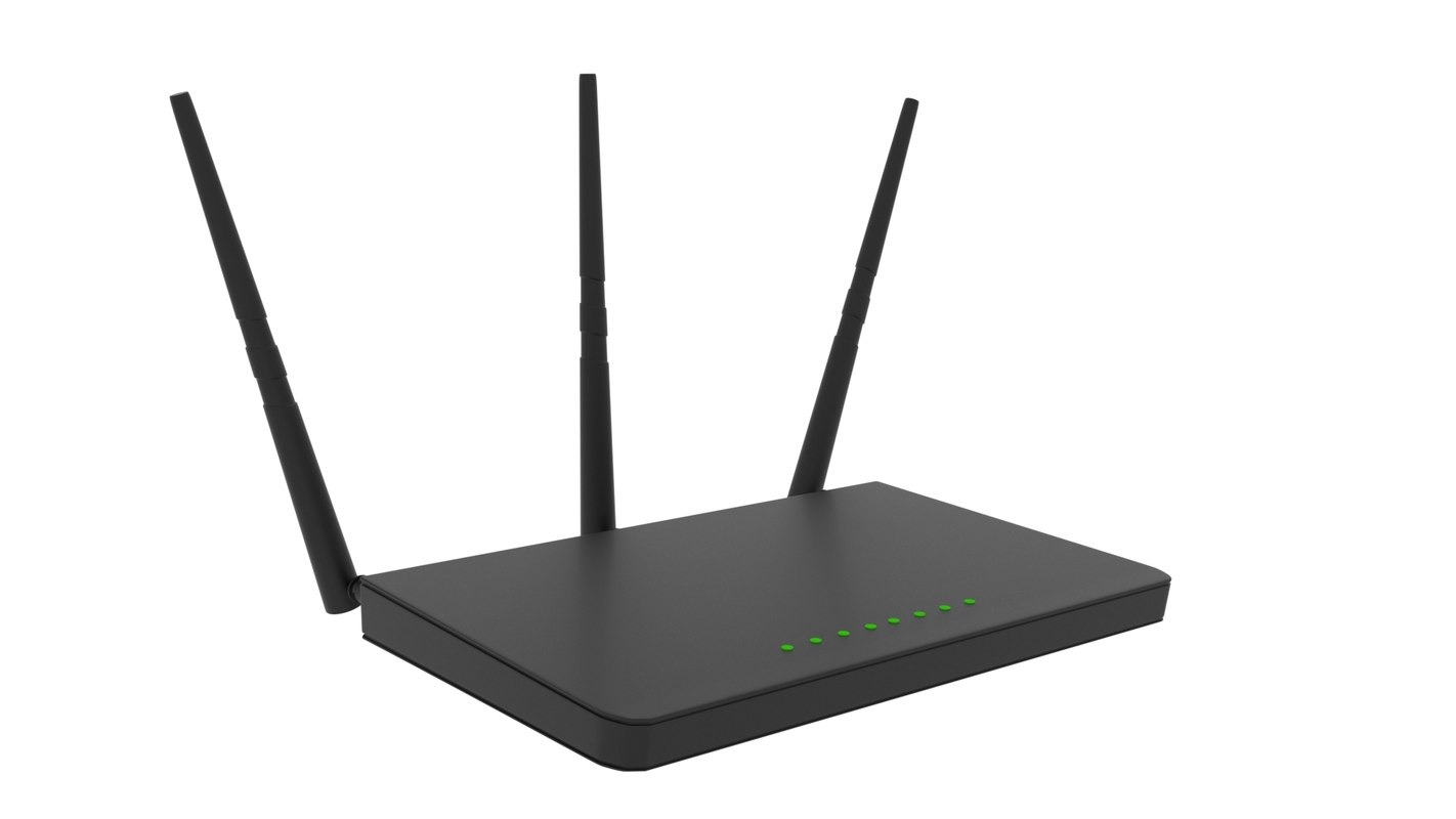 3D wifi router wifirouter