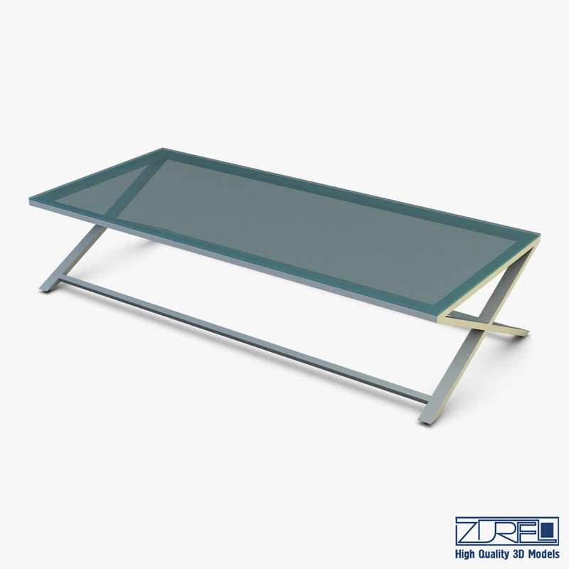 3D model oxo coffee table