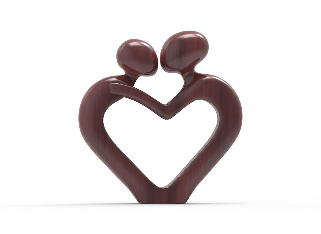 accessory love 3D model