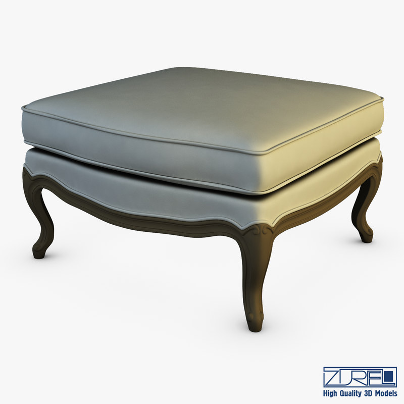 3D boka ottoman model
