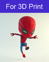 3D spidey print