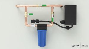air techniques valve 3D