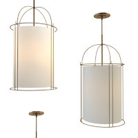3D capitol narrow lantern