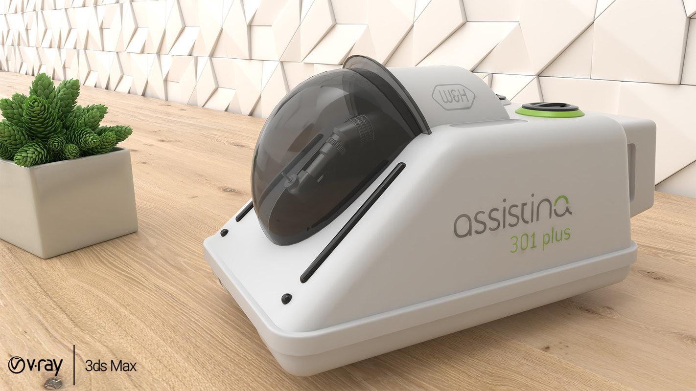 assistina 301 handpiece maintenance model