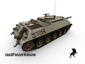 jagdpanzer 90mm 3D