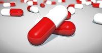 Pills in capsules.