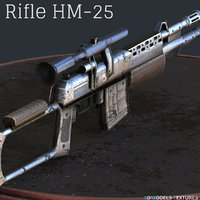 3D rifle hm-25