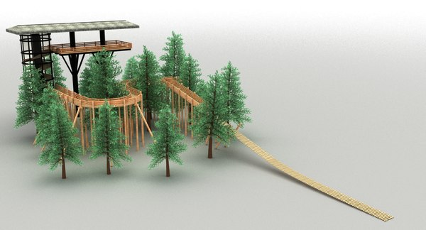 tower woods 3D