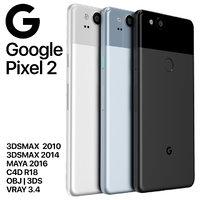 google pixel 2 3D model