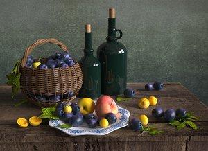3D model fruits