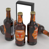 3D beer ale scotch