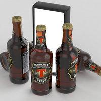 3D beer stout model