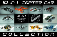 \\T// 10 in 1 Cheap & Cool Copter Car Collection 01
