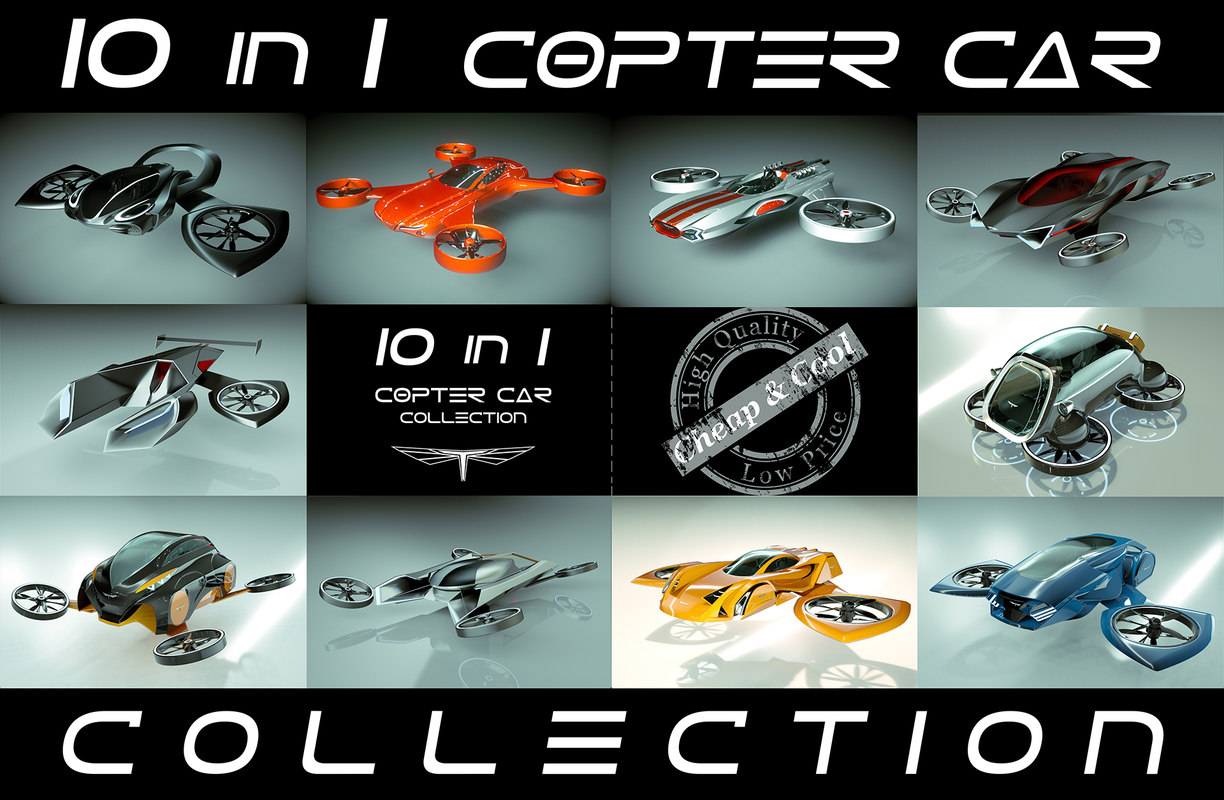 10 1 cool copter 3D