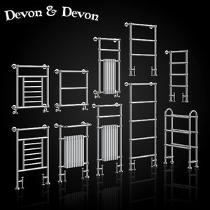 heated towel rails devon model
