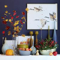 3D autumn set
