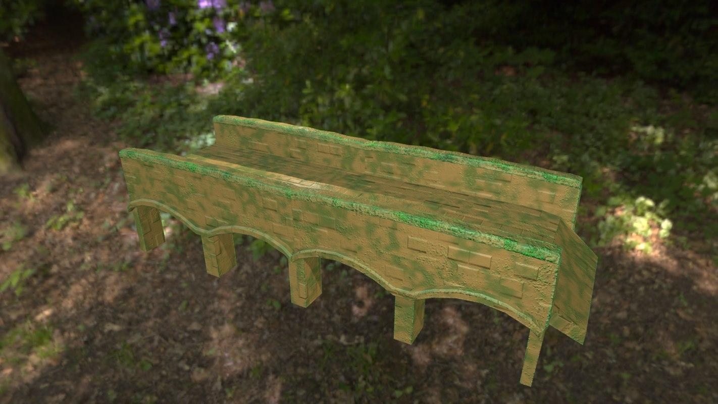 rainforest bridge 3D model