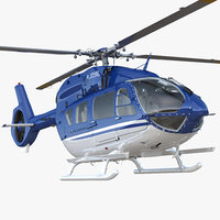 civil helicopter airbus h145 model