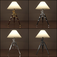 RH ROYAL MARINE TRIPOD TABLE LAMP