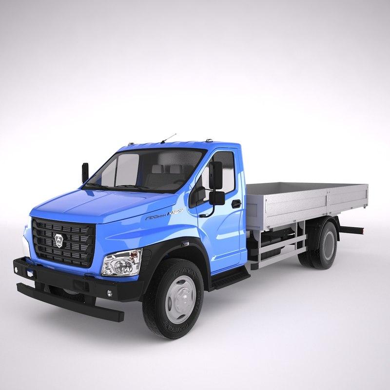 truck gazon 3D model