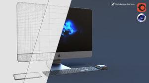 imac pro set 3D model