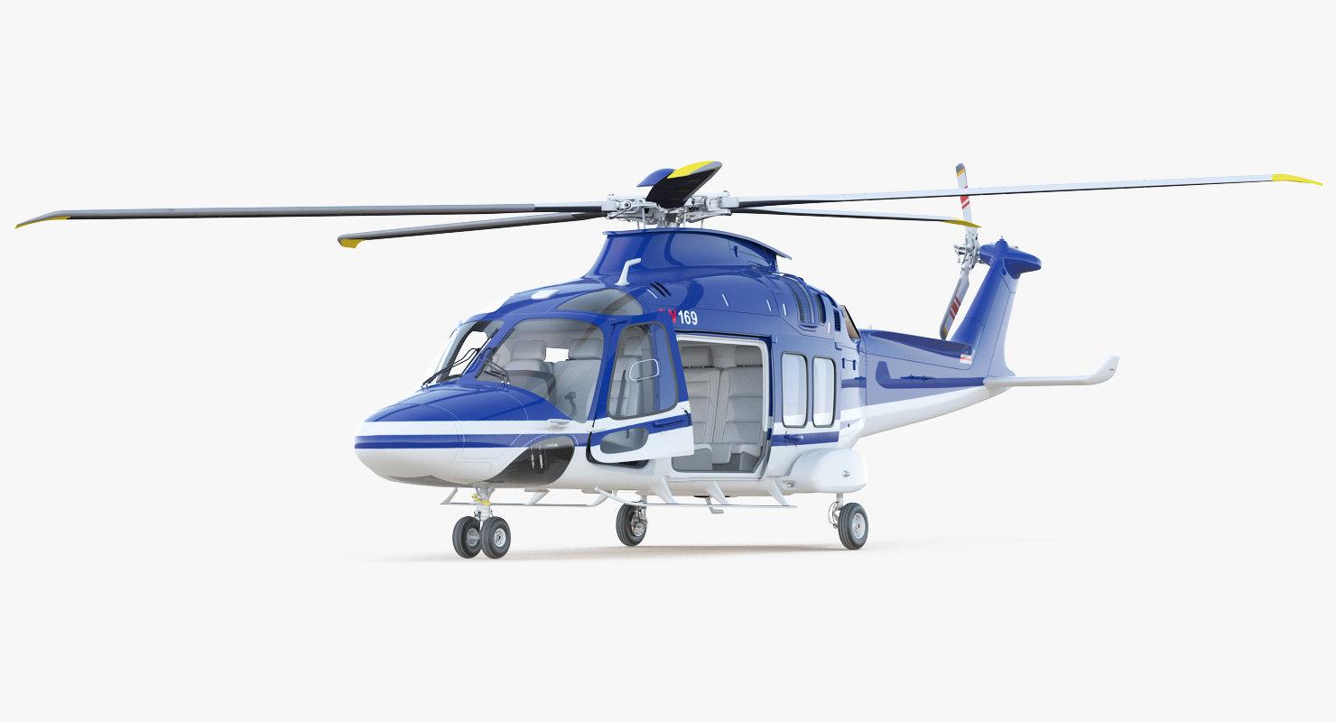 multirole helicopter agustawestland aw169 model