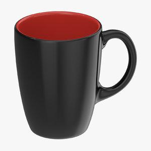promotional coffee mug mockup model