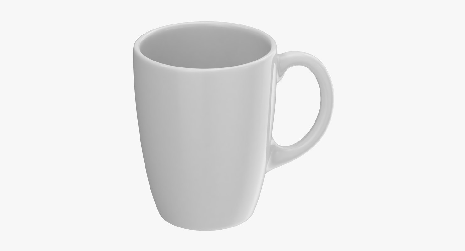 3D promotional coffee mug mockup