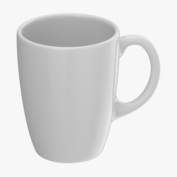 3D promotional coffee mug mockup
