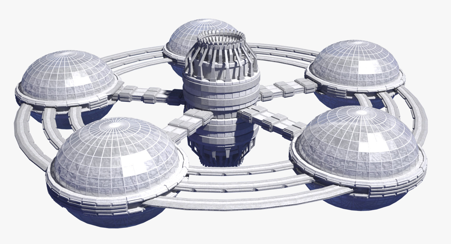 space 20 station 3D model