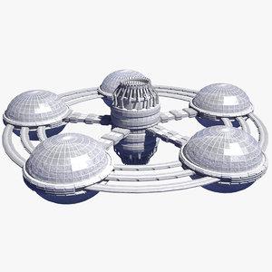 space 20 station 3D model
