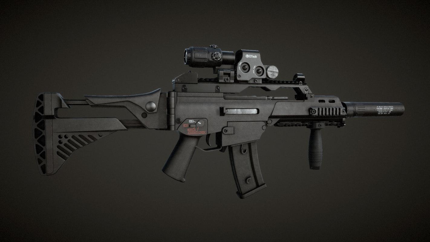 3D g36c carbine