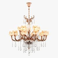 3D chandelier md 6806-10 5 model
