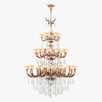 chandelier md 6806-15 10 3D model