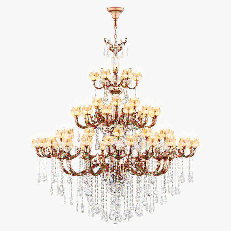 3D chandelier md 6806-60 osgona model