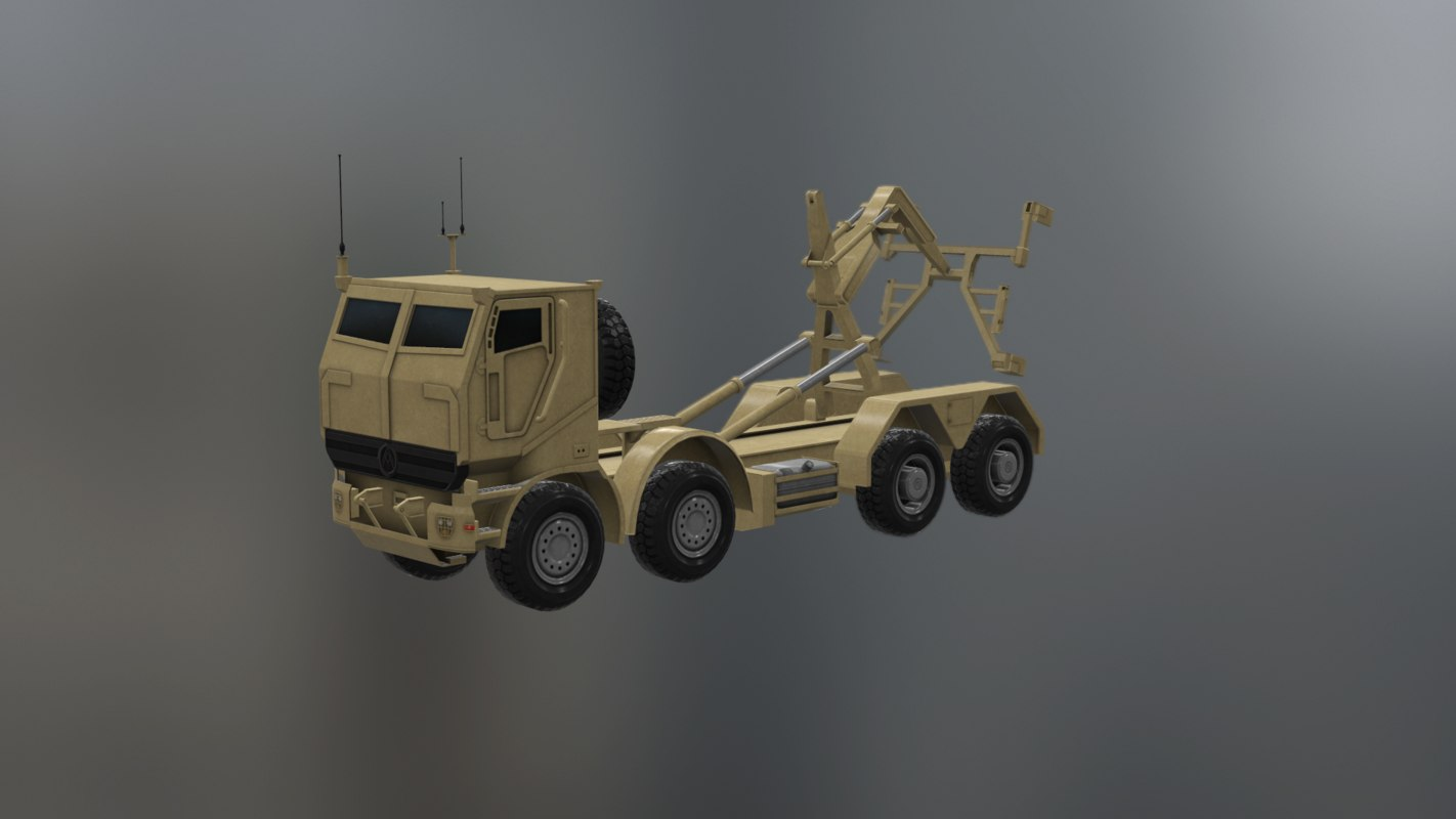 oshkosh logistic vehicle replacement 3D