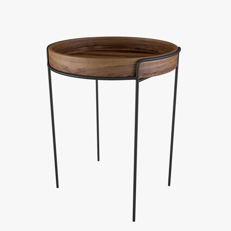 3D model mazargues table ligne