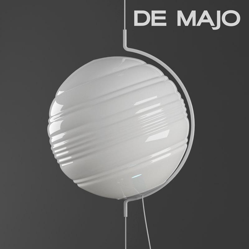 majo stratosfera suspension lamp bulb 3D model