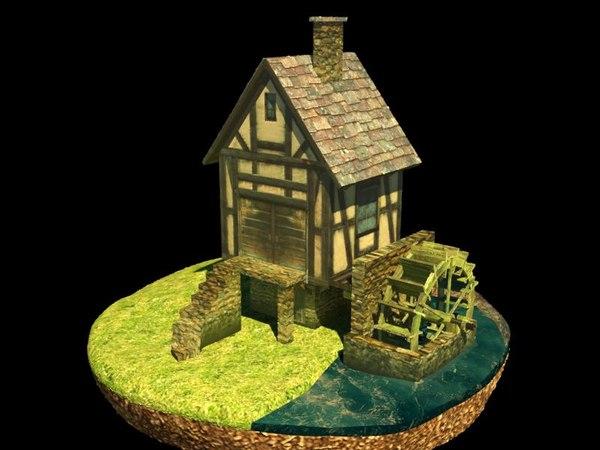 3D model low-poly