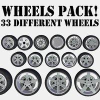 wheels 33 3D model