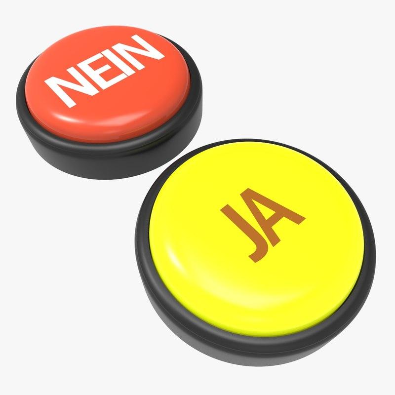 3D buttons nein - ja
