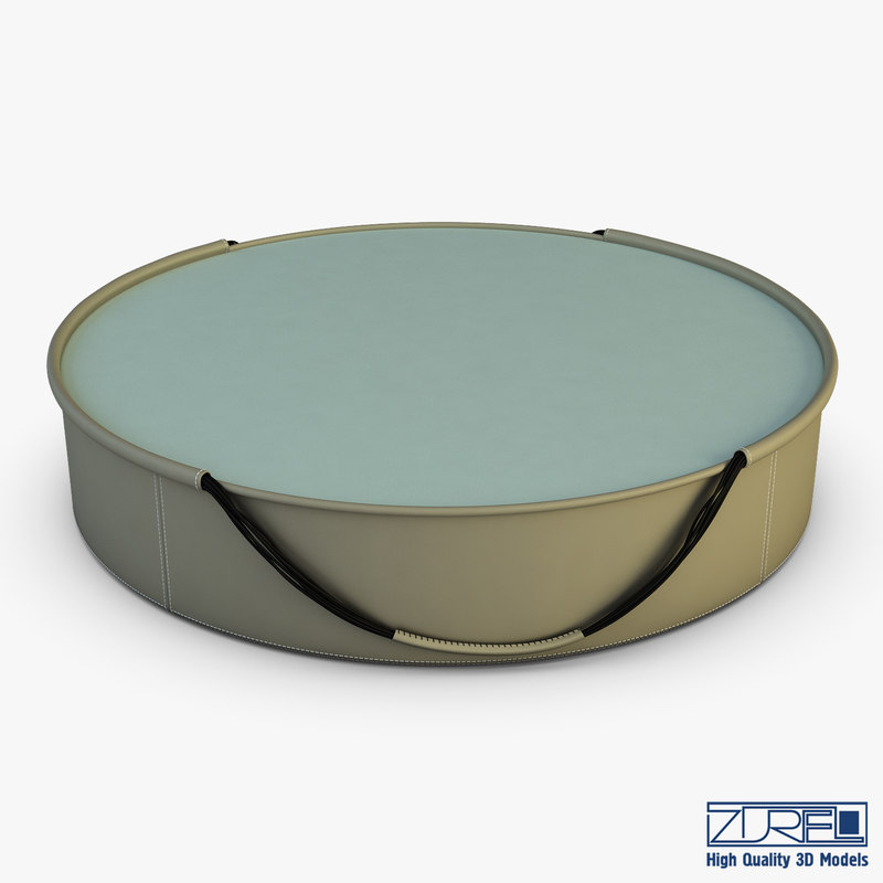 3D t08 coffee table