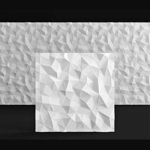 panel deco line 3D model