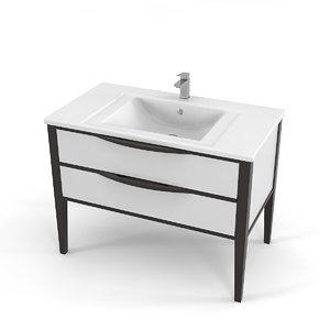 villeroy bathroom furniture 3D model